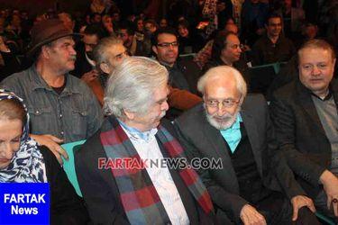 جشن تولد اسطوره سینمای ایران با حضور هنرمندان + عکس