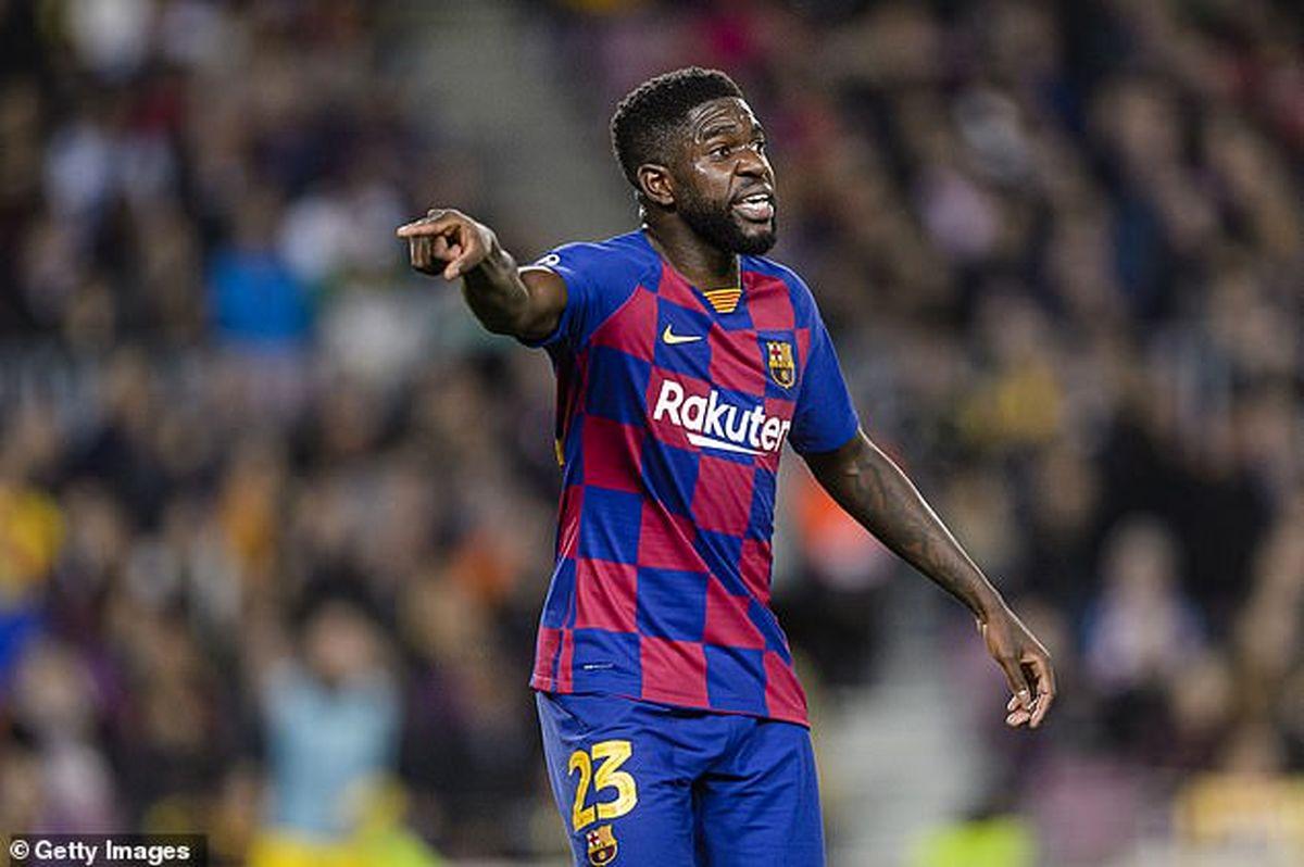 بارسلونا به دنبال رهایی از شر مدافع فرانسوی!