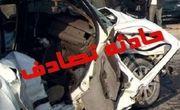مصدوم شدن ۶ نفر در حادثه رانندگی در اتوبان شهید باکری