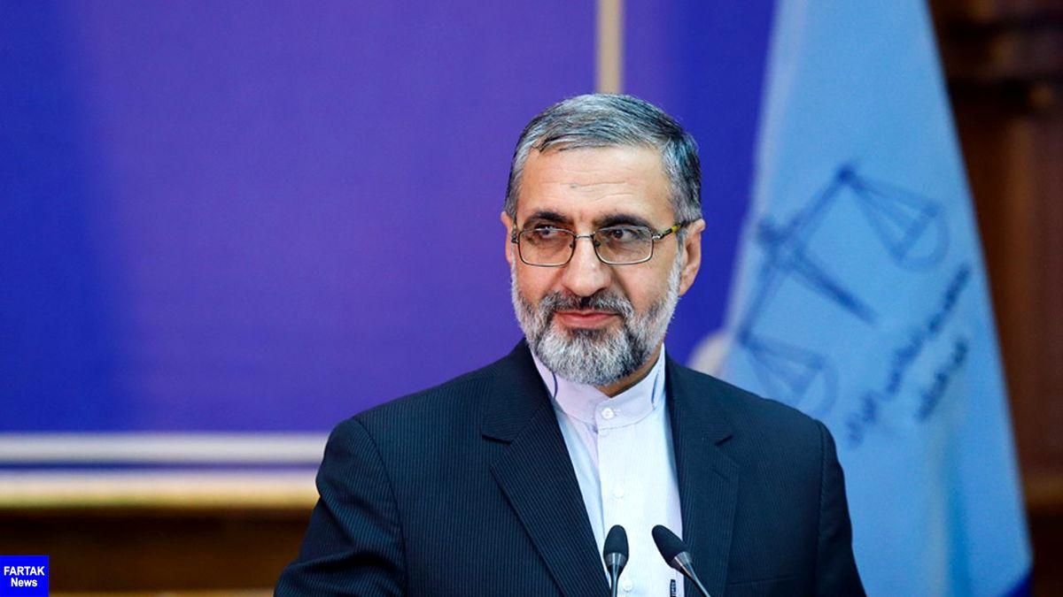 سخنگوی قوه قضائیه : جسد متهم منصوری به خاک سپرده شد/ یکی از محکومان محیط زیستی مورد عفو قرار گرفت