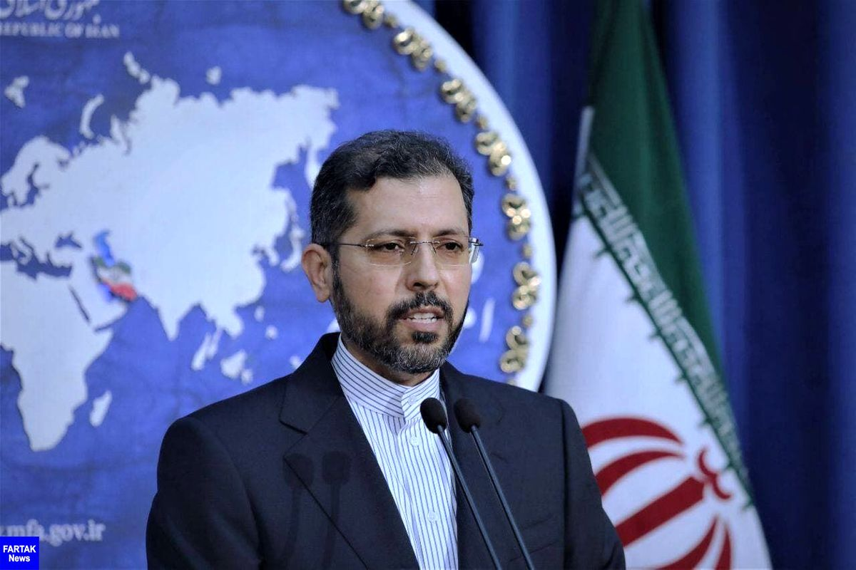 خطیبزاده: ایران با هرگونه بیثباتی داخلی و دخالت خارجی مخالف است