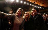پریناز ایزدیار در صفحه نخست سایت جشنواره برلین +عکس