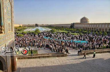 نماز عید فطر در اصفهان