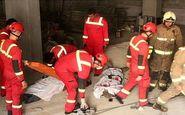 تهران| سقوط مرگبار ۲ نصاب به چاهک آسانسور + تصاویر