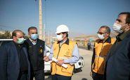 عملیات جهادی تعمیرات شبکه شرکت توزیع نیرویبرق استان کرمانشاه