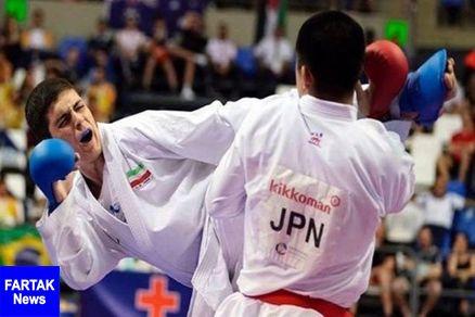پایان کار نمایندگان ایران با شش مدال در لیگ جهانی کاراته سری آ اتریش
