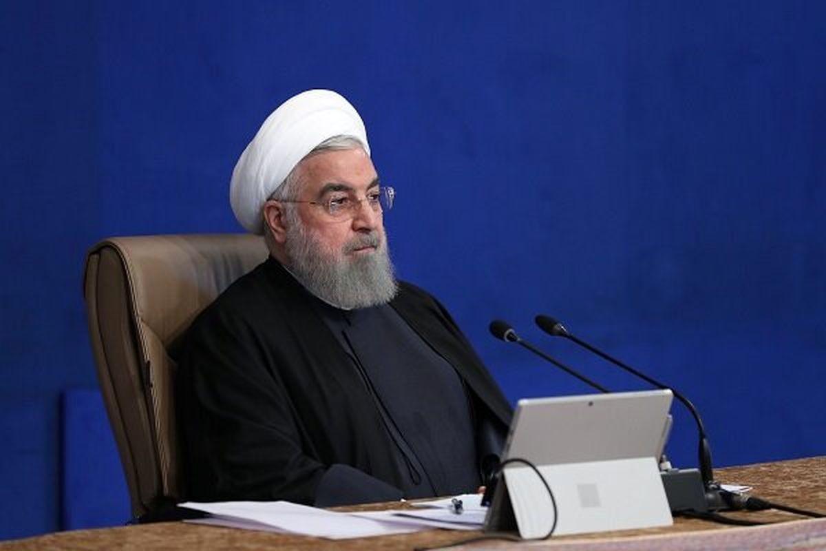 واکنش روحانی به پایان دولت ترامپ؛چند هفته دیگر قلدرها به زبالهدان تاریخ میپیوندند!
