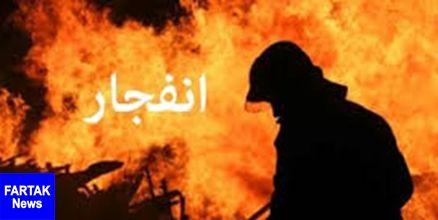 انفجار یک واحد مسکونی در اثر نشت گاز در رباط کریم