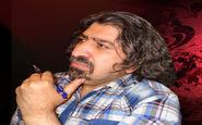 رنگ قلمات استاد محمدکریم جوهری، متن لوح زندگی را مینگارد
