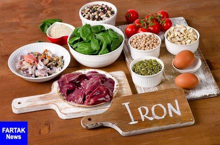 4 راهکار برای جذب بیشترین میزان آهن از موادغذایی