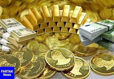 قیمت طلا، دلار، سکه و ارز در تاریخ ۹۸/۰۱/۰۸