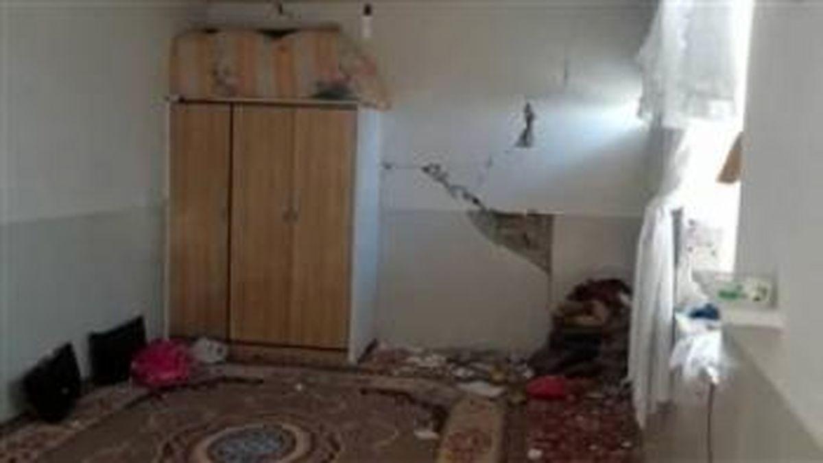 میزان خسارت زلزله ۵.۷ ریشتری در کوهرنگ به منازل مسکونی