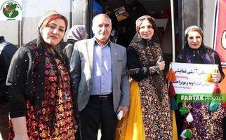 دکتر محمدفیع صادقی مدیر بنیاد صلح جهانی همراه سایر سفیران صلح در استانها به روایت تصویر