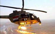 مواضع داعش مورد حملات سنگین بالگردهای عراقی قرار گرفت