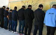 دستگیری 42 مجرم در سنقروکلیایی