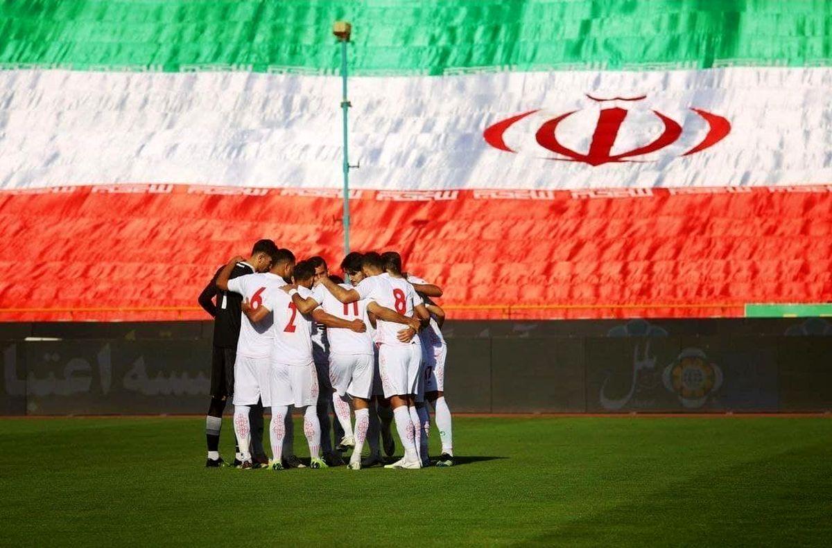 به جای مانده از دیدار تدارکاتی تیم ملی ایران و سوریه