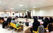 مربیان مسوول فرهنگی کانون استان کرمانشاه نجوم را رصد میکنند