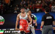 ایران صاحب سهمیه المپیک کشتی آزاد در ۱۲۵ کیلوگرم شد