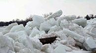 سونامی یخ؛ پدیدهای نادر که در کانادا رخ داد + فیلم