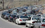 ترافیک سنگین در محور کندوان و آزادراه قزوین-کرج-تهران