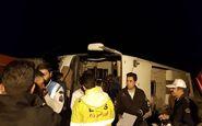 اسامی مصدومان سانحه اتوبوس مشهد – کرمانشاه اعلام شد