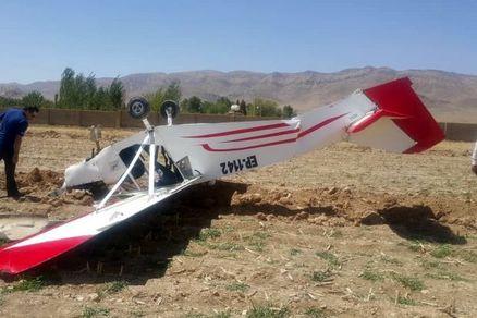 فوری؛هواپیمای آموزشی سقوط کرد