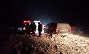 امدادرسانی به ۱۰۰۰ نفر از حادثه دیدگان کولاک شب گذشته