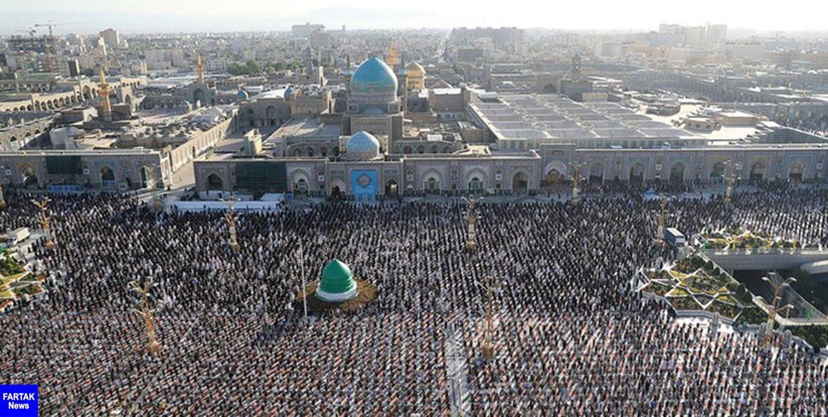 نماز عید سعید قربان در حرم امام رضا (ع) اقامه میشود