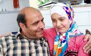 لحظات تلخ اعلام خبر شهادت شهید مدافع حرم به دختر کوچکش +فیلم