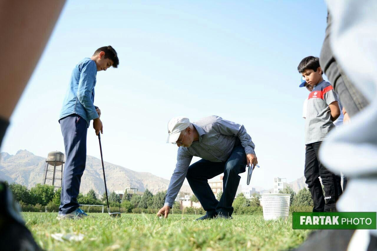 کارگاه آموزشی گلف توسط شهرکی  سرمربی گلف تیم ملی ایران