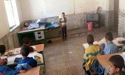 بیماری هم در مقابل این معلمان کم آورد +عکس