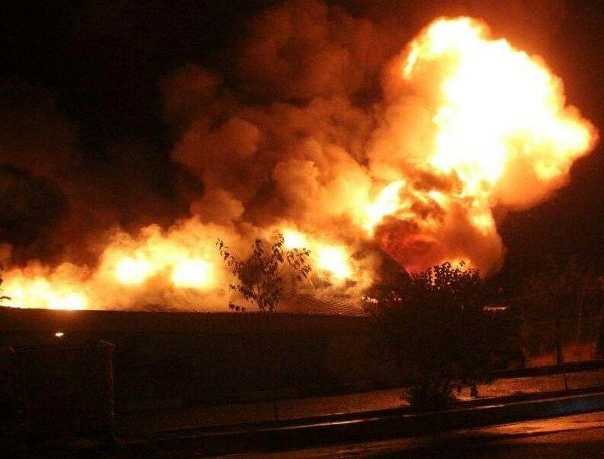 ۲ هکتار از مزارع گل نرگس کشاورز آبدانانی در آتش سوخت