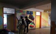 آتش سوزی یک مدرسه در غرب تهران