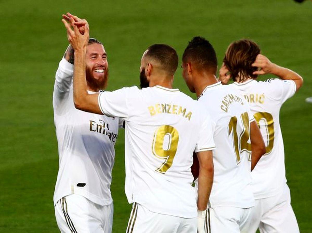 واکنش کریس رونالدو به پیروزی رئال مادرید