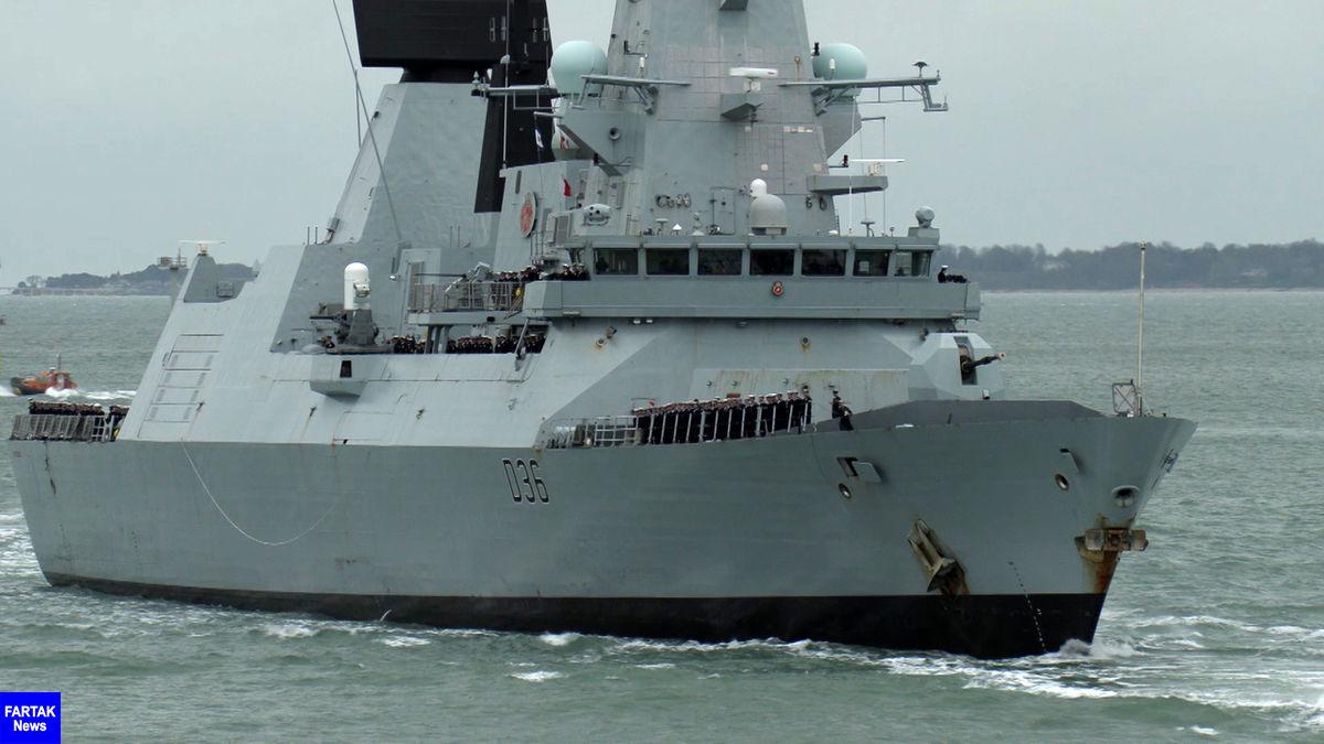 بازگشت کشتی مینروب نیروی دریایی انگلیس بعد از 8 ماه