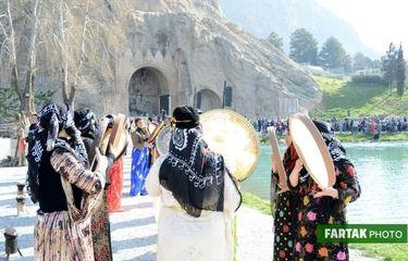 اختصاصی / آغاز جشنواره کرمانشاه پایتخت آیین های نوروزی به روایت تصویر
