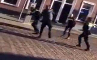 جوان وحشی هلندی که پلیس جلودار آن نیست