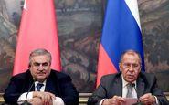 لاوروف: ترکیه برنامهای برای عملیات جدید در شمال سوریه ندارد