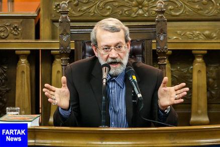 لاریجانی: برخی برای منافع سیاسیشان نقش اپوزیسیون به خود میگیرند
