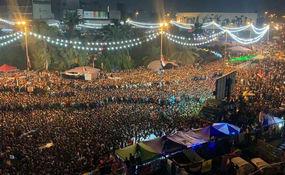 خوشحالی مردم بغداد از پیروزی فلسطین + فیلم