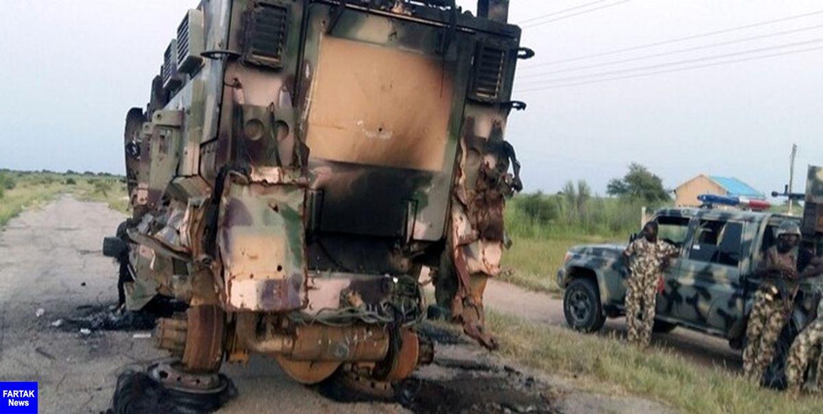 کشته شدن 14 نفر در حمله افراد مسلح به پایگاهی نظامی در نیجریه