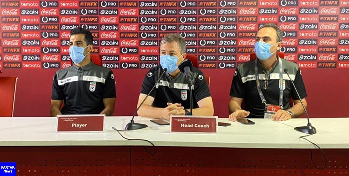 اسکوچیچ: تیم ما اعتماد به نفس خوبی دارد / کاری نداریم چه تیمی صدرنشین است