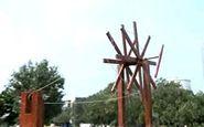 نصب بزرگترین چرخ نخ ریسی جهان در هند