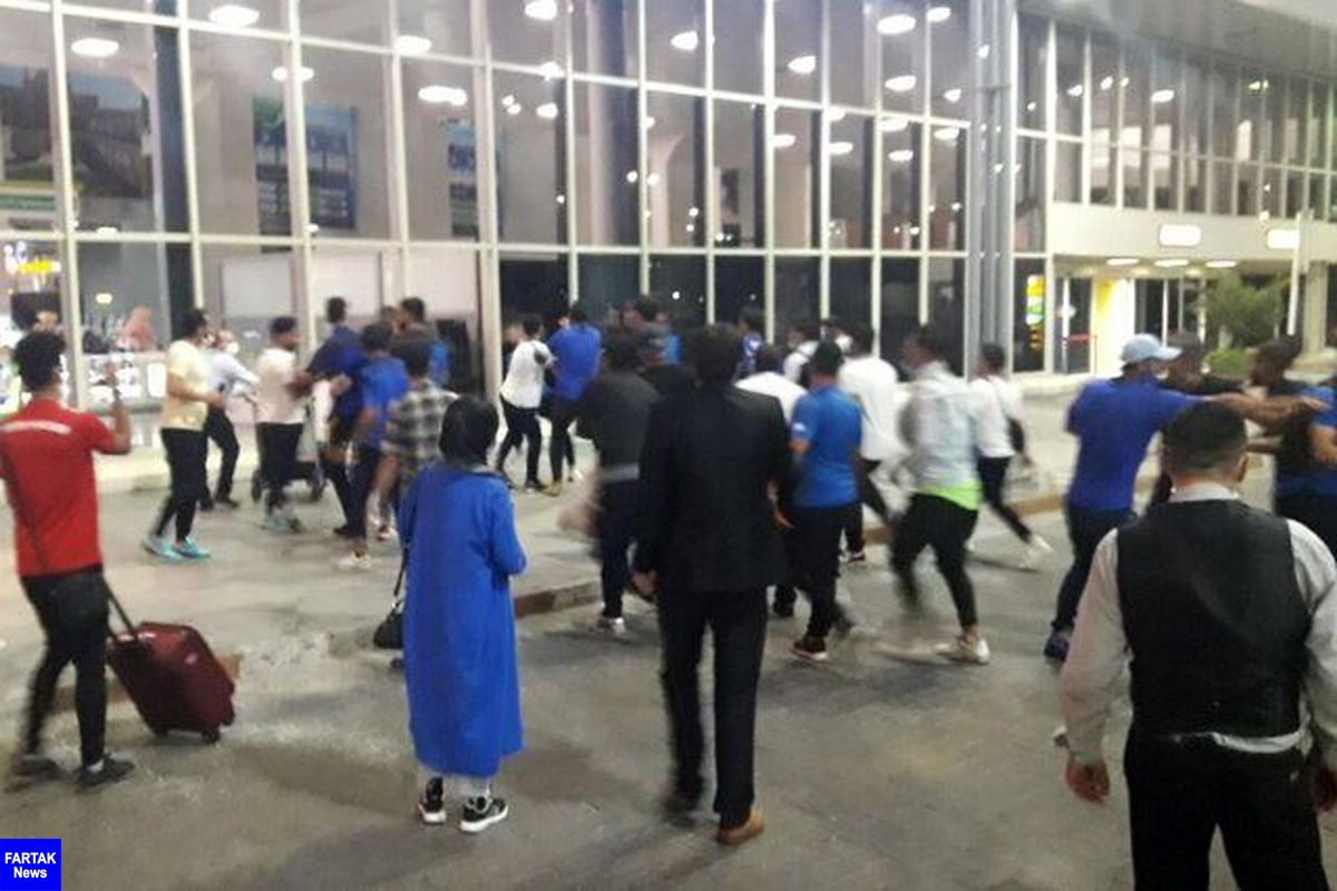 بیانیه باشگاه استقلال درباره درگیری در فرودگاه مهرآباد