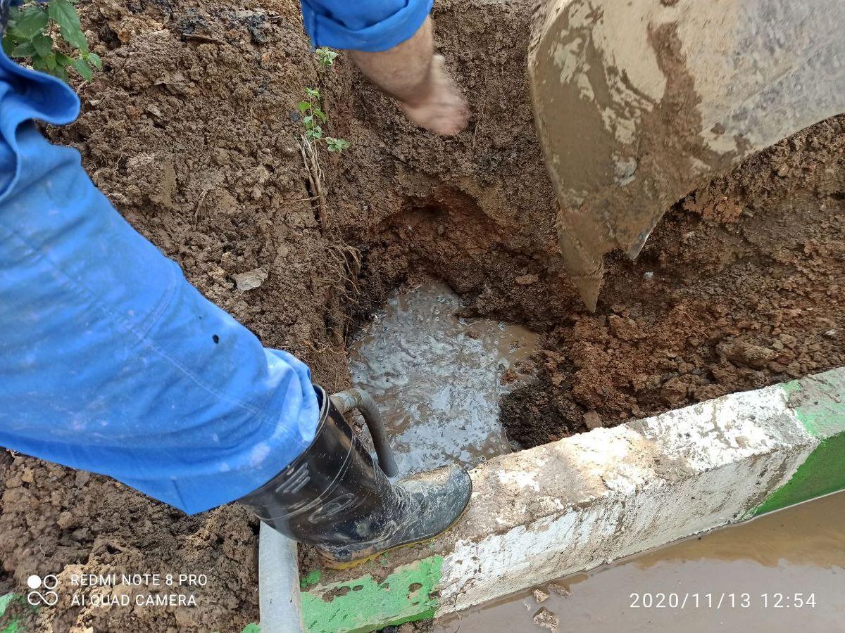 شکستگی خط پمپاژ بیمارستان امام حسین(ع) بدون قطعی آب برطرف شد