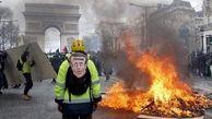 معترضان فرانسوی باردیگر به خیابانها ریختند
