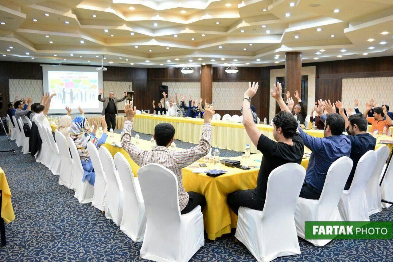 برگزاری کارگاه آموزشی تکنیکهای ارتباط مؤثر در هتل پارسیان کرمانشاه