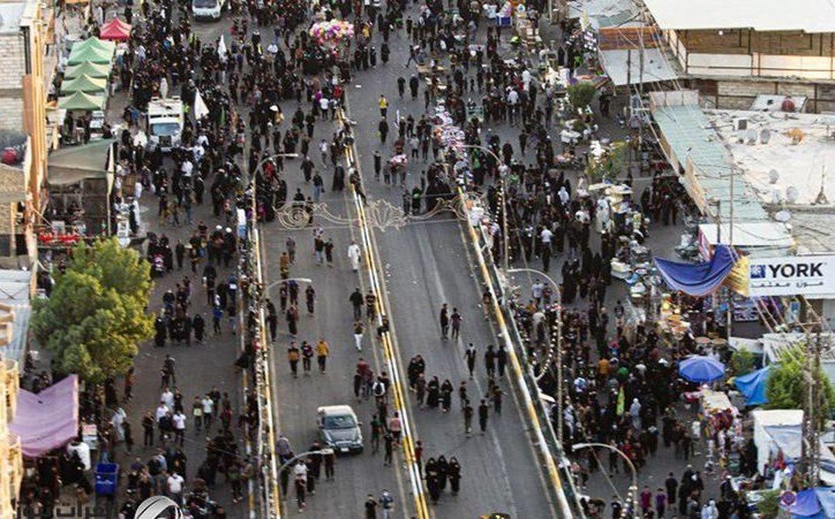 تصاویری از مشارکت بیش از ۱۴ میلیون و ۵۰۰ هزار زائر در مراسم اربعین حسینی