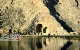 اختصاصی/ تصاویری دیدنی از محوطه تاریخی طاق بستان