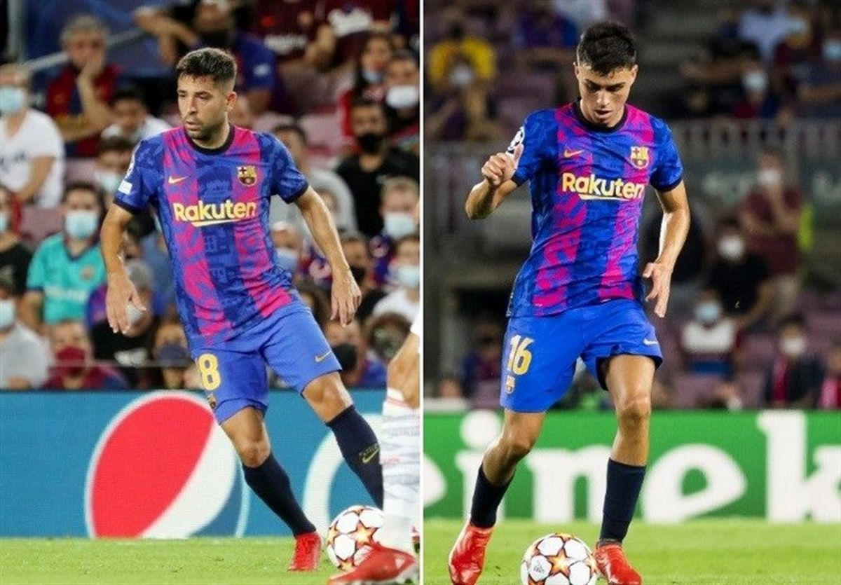 بیانیه باشگاه بارسلونا درباره مصدومیت آلبا و پِدری